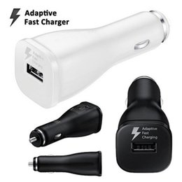 Wholesale Galaxy S2 Car Charger - Car Charger For Samsung Galaxy S6 edge note 5 S4 S3 i9300 S2 i9100 micro USB Cable Vehicle Charger Adapter with retail packing free ship