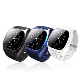 Wholesale Sport Phones - M26 Smart Watch Wireless Blurtooth Wearable Smart Watch Sport Watch for Android IOS Mobile Phone with Retail Box