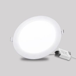 Wholesale Led Ceiling Grid - 3w 4w 6w 9w 12w 15w 18w Ultra Thin led ceiling recessed grid downlight slim Round Square led panel light