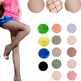 Wholesale Wholesale Net Socks - Wholesale - Sexy Socks for Women Fashion Fishnet stockings Ladies Fishnet Net Pattern Burlesque Hoise Pantyhose Tights BA062