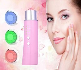 Wholesale Machine Electrical Tools - 2017 EMS Face Lift Machine Firming slimming Facial Skin cleansing Electrical Photon Microcurrent Home Skin Care Tool Beauty Device SWT-150B