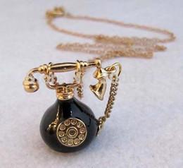 Wholesale Wholesale Antique Telephones - Wholesale-Retail & wholesale high fashion retro vintage steampunk antique telephone necklace, vintage jewelry, fashion jewelry...