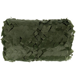 Wholesale Outdoor Tent Covers - 5 Colors Military Camouflage Net 5x3M Outdoor Camo Net for Hunting Covering Camping Woodlands Leaves Hide Sun Shelter Car-cover