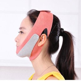 Wholesale Lift Up Face Mask - V Face Lift Up Tape Anti Wrinkles Aging Double Chin Removal Slimming Lifting Face Slimmer Mask Bandage Wrap.