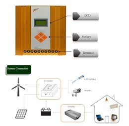 Wholesale Wind Mppt 24v - Great sale price 200w to 600w mppt solar wind charge controller 12v 24v auito mppt controller