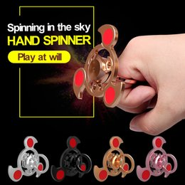 Wholesale Focus Movies - FREE SHIPPING EDC Fidget Hand Spinner Multicolor Torqbar Focus ADHD Autism Finger Toy VTSP12