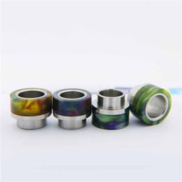Wholesale Dripping Logo - Goon Drip Tip Epoxy Resin For 528 GOON RDA Atomizers Colorful Wide Bore Driptip 510 Mouth Cover Mouthpiece With 528 Logo Retail Box
