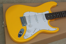 Wholesale Electric Guitars China - Free Shipping China Custom Guitar new yellow cream ST Electric Guitar 2015 8
