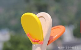 Wholesale Percussion Music Instruments - Wholesale- Free delivery factory price wooden orff percussion instruments bell toys, baby long handle castanet, children's music toys