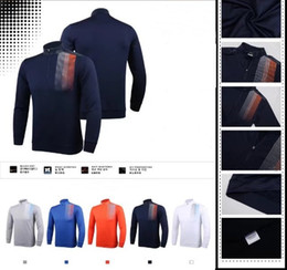 Wholesale Warm Grey Hoodie - 2017 Ti golf hoodie Autumn Winter keep warm dry fit smooth touching golf sweats 5 colors OEM available