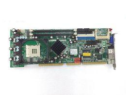 Scheda originale ROCKY-4786EVG-RS-R40 SOCKET 478 SBC Industrial Board con due porte Ethernet funzionanti al 100% funzionanti, usate, in buone condizioni da intel 478 fornitori