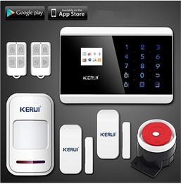 LS111- NOVITÀ KERUI Wireless / Wired Touch Screen Pannello tastiera Display LCD GSM SMS PSTN Home Security Sistema antifurto Voice Smart Alarm da