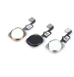 Wholesale wholesale button parts - High Quality For iPhone 6 6 plus 4.7 5.5 inch Complete Home Button Flex Ribbon Cable Touch ID Sensor Replacement Part