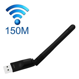 Wholesale Internet Usbs - Openbox Wifi Internet Wireless USB Dongle Antenna Adapter 150M for MAG254 Tv Box OTT IPTV Set Top Box SKYBOX OPENBOX JYNXBOX