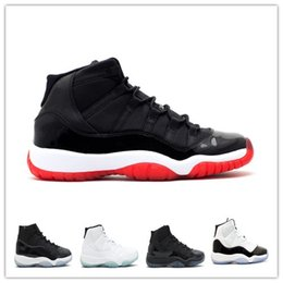 "Wholesale Good Jams - Retro 11 Space Jam Number""45"" Basketball Shoes men women Gamma Blue Discount Good Quality Retro 11(XI) Bred Concord Space Jam Free Shipping"