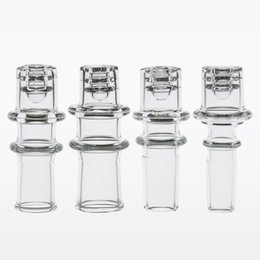 bongos de vidro de diamante Desconto Novo Elétrico quartzo enail Diamante Nó de quartzo banger 20mm dnail 14mm 18mm nó para 20mm bobina, bongo, bongos de vidro tubos de água dab