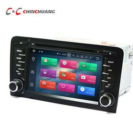 Chargeur de voiture audi en Ligne-Mise à jour 4G RAM Octa Core Android 8.0 Lecteur DVD de voiture pour Audi TT avec Radio GPS Navi Wifi DVR Lien Miroir