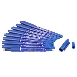 Wholesale Tool Skin Marker Pen Tattoo - Wholesale- 5 X 10 Skin Marker Pen Scribe Tattoo Supply Piercing Tool