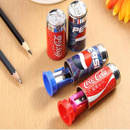 Wholesale Wholesale Network Supply - Cute Mini Cola Pencil Sharpener With Eraser, Pencil Sharpener Student School Supplies