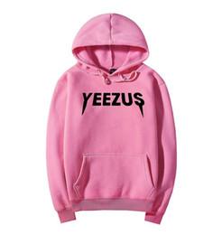 Hoodie de yeezus on-line-Frete grátis 2017 versão alta outono inverno moda ar de deus hip-hop hoodies yeezus camisola casual