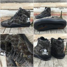 Wholesale Skeleton Table - Mastermind MMJ shoes Japan tubular instinct 750 3.0 man sneaker Coconut Python skeleton skull fashion shoes Size 40-44