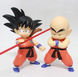 Wholesale Dragon Ball Kai Son Goku - Dragon ball Z Son Goku Dragonball Carrin Figurine Toys 20 cm Models Dragon Ball Kai