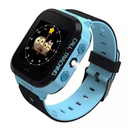 Wholesale Touch Generations - Wholesale- 3 Generations Children Kids Study Play Touch Screen Smart Watch Outdoor GPS Tracker SOS Monitoring Positioning Watch