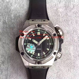Wholesale Black Titanium Watch - Luxury Best Edition HBB V6 Factory Stainless Steel 48mm Titanium 400M 731.NX.1190 Swiss CAL.HUB1400 Movement Automatic Mens Watch Watches