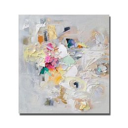Wholesale Wall Sales Pictures - New Style Abstract Beautiful Painting for Home Decor Wall Pictures Modern Canvas Art Hot Sale Oil Painting High Quality No Framed