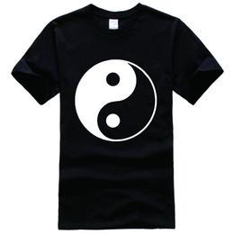 Wholesale Cross Peace - Yin & Yang Peace Love Good Evil Religion Swag Cross Printed Tee Shirt Unisex Fashion Women Men Short Sleeve Fun Shirt More Size