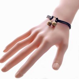 Wholesale Couple Bracelets Korea - Europe and the United States retro sweet pearl velvet lace multi-layer couple bracelet female Japan and South Korea bracelet Korean jewelry