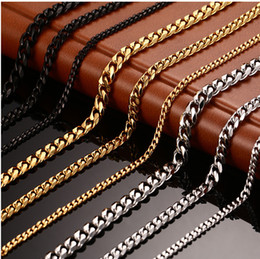 Wholesale Thick Asian Women - Korean Jewelry Chain Thick Chain Domineering Pendant Accessories Necklace Men and Women Section Chain
