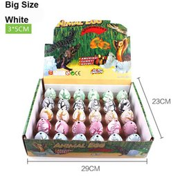 Careful 5pcs Large Colorful Water Hatching Inflation Dinosaur Egg Novelty Gag Toys Egg Surprise Watercolor Cracks Grow Egg Dinosaur Toy Moderate Price Toys & Hobbies