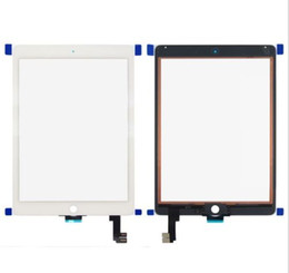 Wholesale Ipad Copy - High Quality Copy For Ipad6 Touch Screen Digitizer Glass Replacement Black Or White for ipad air2 Flex Cable Without Home Buttom