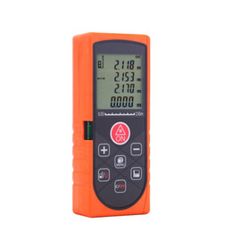 Wholesale Bubble Level Tool - 150m 492ft Handheld Laser Rangefinder Distance Meter Accurate Range Finder Area Volume Measurement Level Bubble Tester tool 5pcs