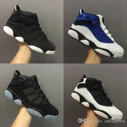 Wholesale Pu Rings - Free Shipping Wholesale Cheap online hot Sale New Best basketball shoes Air Retro 6 VI RINGS Carmine Sneaker Sport Shoe VI US 7-11