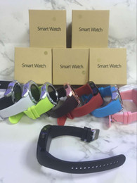 Wholesale Free Email Packages - V8 Smart Watches Bluetooth Watches Android with 0.3M Camera MTK6261D DZ09 GT08 Smartwatch for android phone with Retail Package free DHL