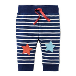 Wholesale Animal Print Pants For Kids - Baby Boys Cotton Pants 2017 Brand Autumn Winter Children Trousers Boys Clothes Character Print Kids Leggings for Girls Pants
