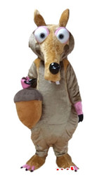 Wholesale Adult Squirrel - squirrel Mascot Costume Mascot Adult Size free shipping