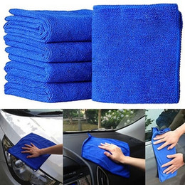 Wholesale Great Towels - Wholesale- 5X Car Auto Care Fabulous Great Blue Wash Cloth Microfiber Cleaning Towels