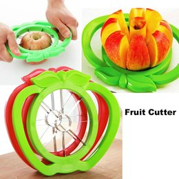 Wholesale Knife Cut Apples - Corer Slicer Easy Cutter Cut Fruit Knife Cutter for Apple Pear high quality Free Shipping OTH321