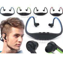 Wholesale Iphone Boxes Packages - Bluetooth Headphone S9 Wireless Stereo Headset Sports Bluetooth Speaker Neckband Earphone Bluetooth 4.0 With Retail Package With Retail Box