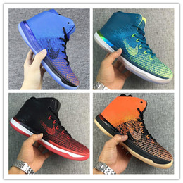 Wholesale Sport Shoes Sale Usa - 2016 New Hot Sale Retro 31 Banned USA Brazil Men's Basketball Shoes for Top quality With Carbon Fiber Airs 31s Sports Sneakers Size 7-12