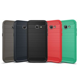 Wholesale A3 Blue - For Galaxy A5 Case Armor Soft TPU Case Cover with Phone Cases For Samsung Galaxy A3 A5 A7 2017