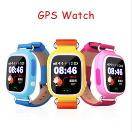 Wholesale Baby Positioning - Q90 kids smart watch Touch Screen GPS Positioning Baby Smart Watch Children SOS Call Location Anti Lost Monitor GPS tracker