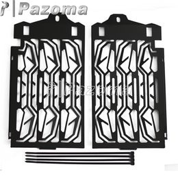 Wholesale Radiator Grill Covers - Black Stainless Steel Motorbike Radiator Grill Grille Guard Moto Water Cooler Cover Protector For BMW R 1200 GS 2013-2016