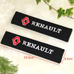 Wholesale Car Duster Case - Car styling car sticker all cotton case for Renault duster megane 2 logan renault clio accessories car-styling 2PCS LOT