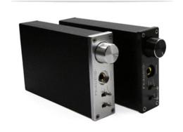 Wholesale Decoder Coaxial - 2016 New FX-Audio DAC-X6 Fever HiFi Amplifier USB DAC Coaxial Fiber Audio Digital Decoder 12V 24BIT 192 AMP Black Sliver