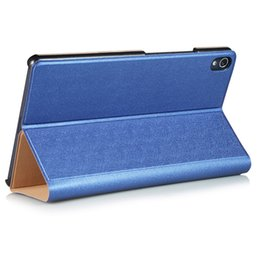 Wholesale 8inch Tablet Case Stand - Wholesale- Solid Protective Stand PU Leather Cover for Lenovo Tab 3 8 Plus 8inch Tablet Case for Lenovo P8 TB-8703F (Tab3 8 Plus)
