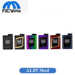Wholesale Wholesale Small Metal Boxes - Original SMOK Alien Baby Mod New Colors AL85 Vape E Cigarette 85W Box Mod Temperature Control Palm Size Small Vaporizer